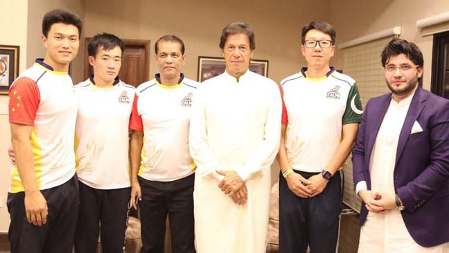 A new era of cricket as Chinese players join PSL