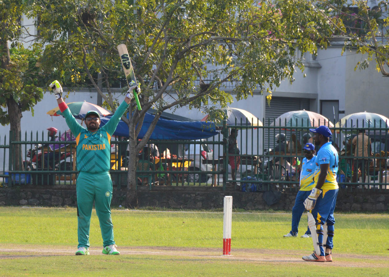 Nisar and Rashid were the stars as Pakistan go 2-0 up in ODI series
