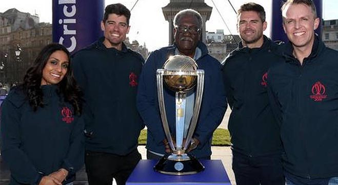 Lloyd was in London on Tuesday at an event marking 100 days until the start of the 2019 World Cup in England and Wales.