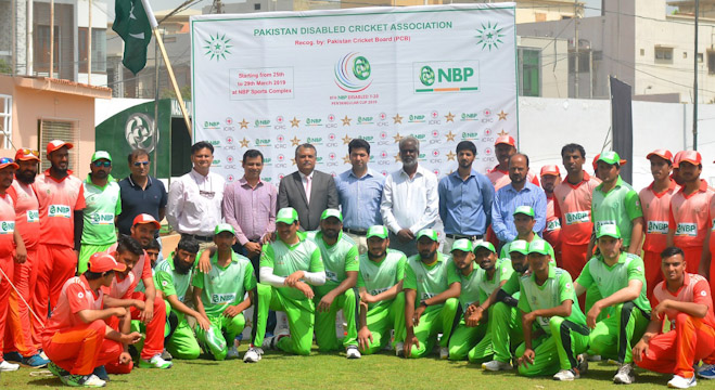 8th NBP Disabled T-20 Pentangular Cup 2019 inaugurated