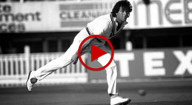 Imran Khan Nostalgia from 1981