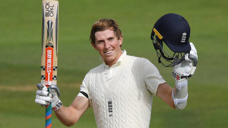 Zak Crawley's Maiden Ton Puts Hosts in Strong Position