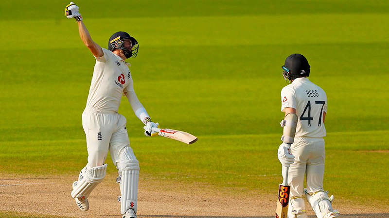 Thrilling three-wicket win for England against Pakistan