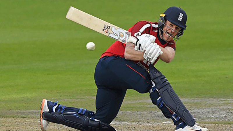 Eion Morgan stars as England beat Pakistan in 2nd T20